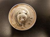 CHINA Silver Coin 1 OZ SILVER COIN PANDA CHINESE 1 OZ SILVER COIN PANDA